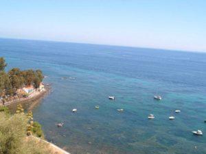 05 - Milazzo - Veduta del mare dal Capo