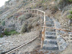 62 - Milazzo - Nuova scalinata, particolare.