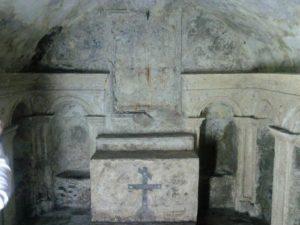 75 - Milazzo - La Cripta di San Francesco venuta fuori dopo il restauro